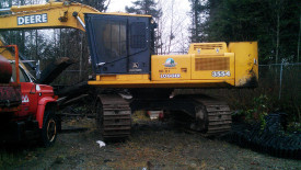 3554 John Deere Excavator