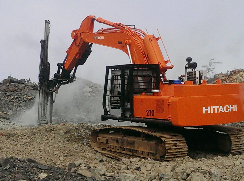 Rock Blasting Equipment : North island rockpro inc services and equipment