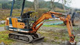 mini-excavator
