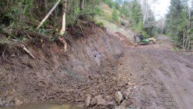 slide area ditch